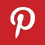 pinterest logo, pinterest icon